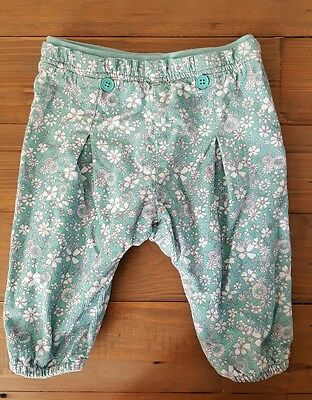 Baby Girl Floral Trousers 3-6 months