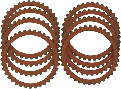 Drag Specialties Organic Friction Clutch Plates 8 Pk For Buell Harley 1131-0425
