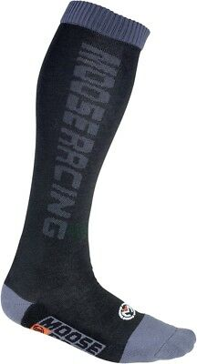 Classic Moto Socks Md-Lg - 7--10 Black Moose Racing 3431-0140