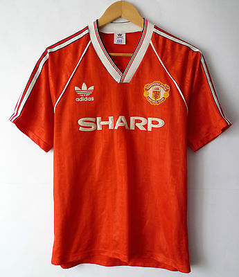 Manchester United England 1989/1990 Home Football Shirt Jersey Maglia Very Rare