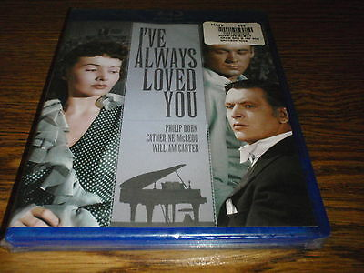 I've Always Loved You Blu Ray New Sealed