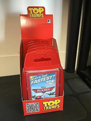 6 or 24 WHOLESALE TOP TRUMPS DISNEY PLANES CARD GAME IN CDU PARTY BAG TOYS GIFTS
