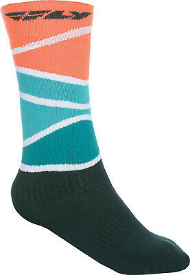 Fly Racing 350-0421S MX Sock Sm/Md Red/Blue/Black Thick