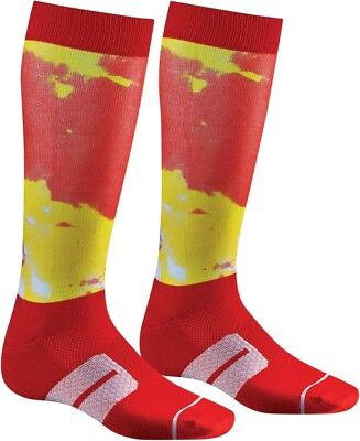 Thor 3431-0341 S7 Moto Sub Sock 14--15 Red