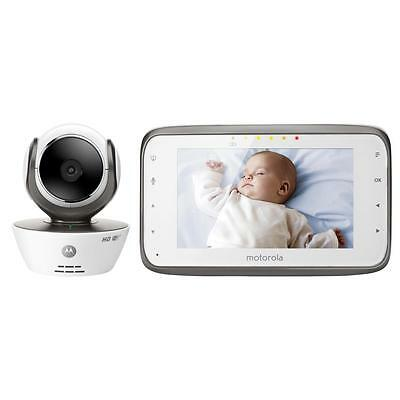Motorola MBP854CONNECT Digital Video Baby Monitor with Wi-Fi Internet Viewing