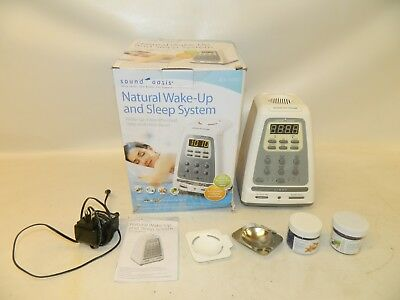 NIB Sound Oasis BLS-100SO Natural Wake Up Sleep System Alarm Clock Aromatherapy