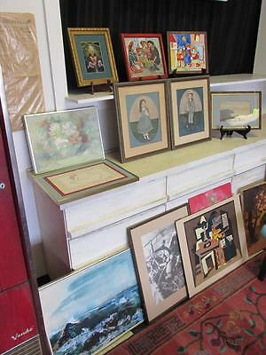 GROUPING OF MID-CENTURY ART PIECES Lot 14