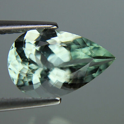 2.56 Cts Wonderful Rich Luster Natural Beryl Pear Shape Green Color