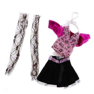 Fashion Party / Casual Clothes Skirt Dress Coat Pants for Monster High Dolls