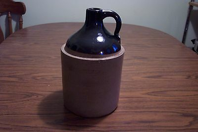 Vintage  Primitive 1 Gallon Moonshine Whiskey Jug