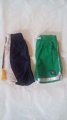 Toddler Boys Set of 2 Shorts - Size 24 Months
