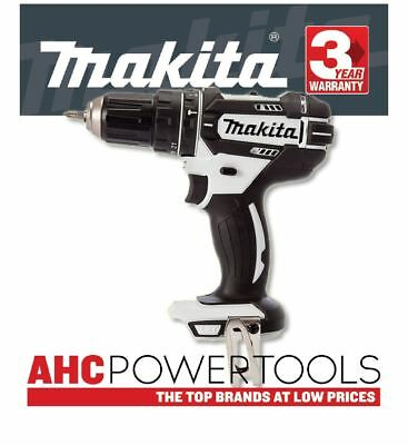 Makita DHP482 ZW Combi Drill 18V Cordless LXT Li-ion White (Body Only)
