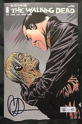 IMAGE COMICS THE WALKING DEAD #156 SIGNED BY CHARLIE ADLARD w/COA