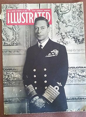 Illustrated Magazine We 16 February 1952 First Issue After Death Of George Vi