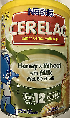 [ Buy 3 get 1 Free ]Nestle Cerelac Honey and Wheat with Milk From 12 Months 400g