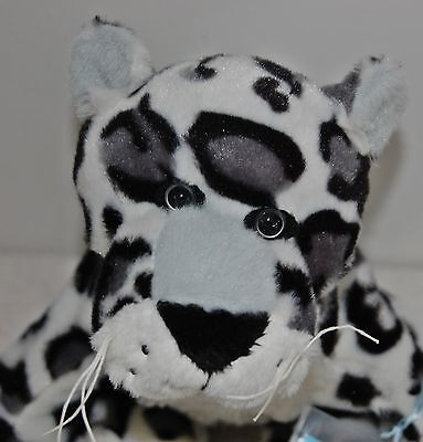 Webkinz Snow Leopard HM378 NEW with attached UNUSED code FREE Shipping!!!