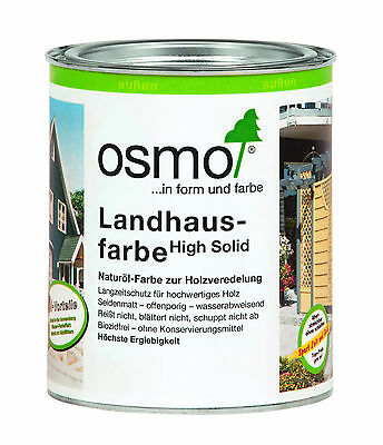 Osmo Cottage paint High Solid 2.5L various Shades to select