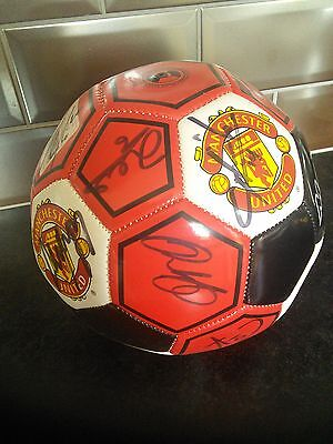 Manchchester United signed football