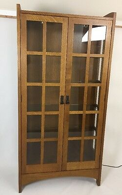 Stickley China Cabinet Mission Oak Arts And Crafts