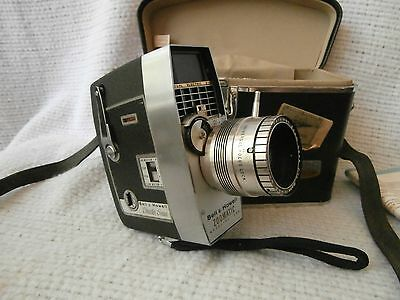 Vintage BELL & HOWELL ZOOMATIC Director Series 8mm Movie Camera Model 424-424-p