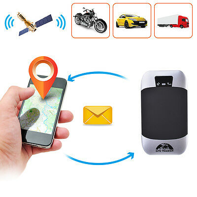 Realtime GPS Tracker GPRS/GSM Tracking Device w/ 1.5m Microphone + Relay MA1014