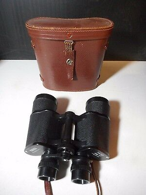 Yashica 7 X 50 Binoculars - Field 7.1 Degrees With Case  Very Good ++ Condition