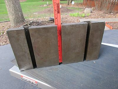 """T-Slotted Angle Plate 16""""X8""""X6"""" Heavy Duty 5"""" Centers fits on Bridgeport mills"""