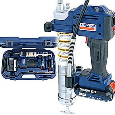 Lincoln 1884 20 Volt Cordless Grease Gun with 2 Lithium Batteries ***REBATE***