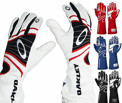 Oakley - FR Auto Racing Gloves  SFI/FIA Rated SFI-5 Driving Fire 2 Layer Nomex