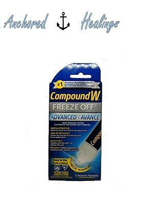 Compound W Freeze Off Advanced Wart Removal System 15 Applications