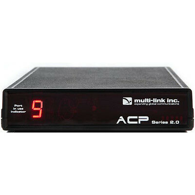 Multi-Link Line Sharing 9 Port Call Router in Fax/Data Switches ACP-900