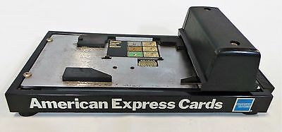 AFI Addressograph Farrington Inc. Manual Credit Card Imprinter Slider Roller