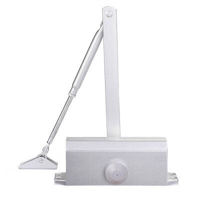 45-65KG Aluminum Commercial Door Closer Two Independent Valves Control Sweep