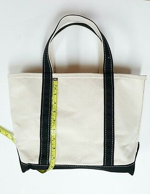 LL Bean Boat and Tote Bag  Canvas clean