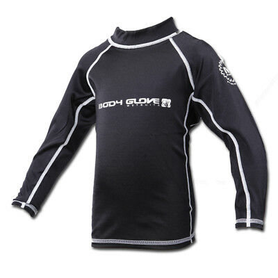 Body Glove Junior's Long Sleeve Shirt Rash Guard Swimwear Wind Burn Colors+Sizes