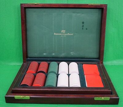 """""""Fab Abercrombie & Fitch Poker Chip Gaming Boxed Set!"""""""