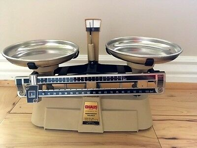 Vintage Ohaus Pennyweight Balance Metal Scale Model No. 1517
