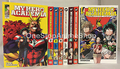 My Hero Academia Manga set Volumes 1-13 english paperback brand new