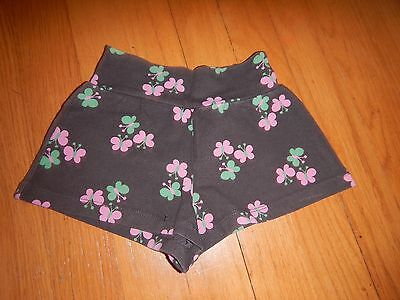 EUC Baby Gap Girls CUTE Brown Butterfly Shorts - Size 18-24 Months