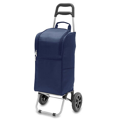 Picnic Time 545-00-138 Picnic Time - Cart Cooler - Navy New