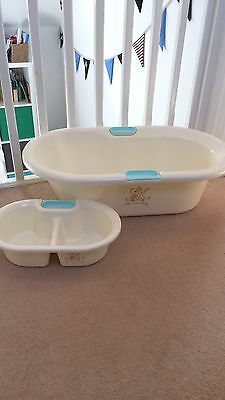 Baby Bath with matching top and tail bowl