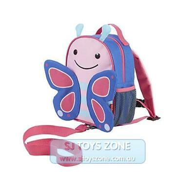 Skip Hop Zoo-let Little Kid Toddler Mini Backpack with Rein - Butterfly