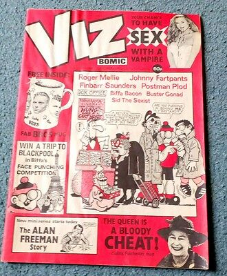 rare viz comic no 31 (Aug 1988)