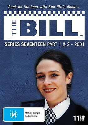 The Bill - Series 17 - Part 1 & 2 (2001) - (11 Dvd Set) Brand New!!! Sealed!!!