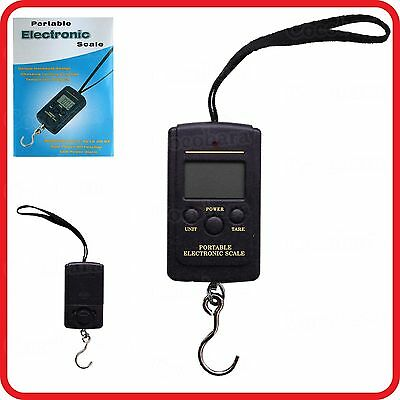 Portable Digital Electronic Scale-40Kg/10G-Luggage Fishing Weight Travel Baggage