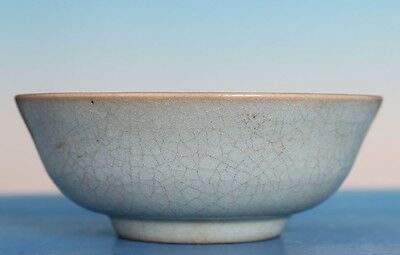 Exquisite Rare Old Chinese Ru Kiln Celadon Porcelain Bowl Collection FA157