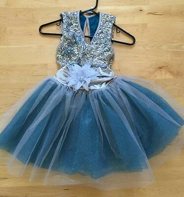 Girls ballet dance party dress  play dress-up costume size 7-9Y