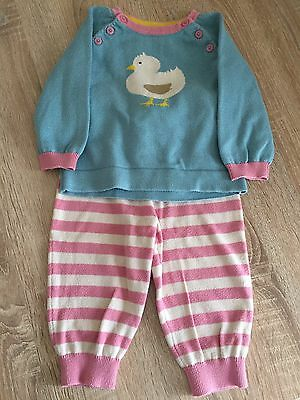 Baby Boden Girls Outfit 6-12 Months