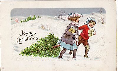 Early 1900's  Christmas- Postcard - Selling Lot Of Cards