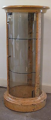 SUPERB Cylindrical Glass Deco COCKTAIL/DISPLAY CABINET - MID 20TH CENTURY